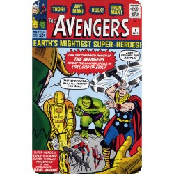 THE AVENGERS 1 (COMIC BOOK...