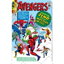 THE AVENGERS 6 (COMIC BOOK...