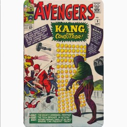 THE AVENGERS 8 (COMIC BOOK...