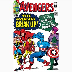 THE AVENGERS 10 (COMIC BOOK...