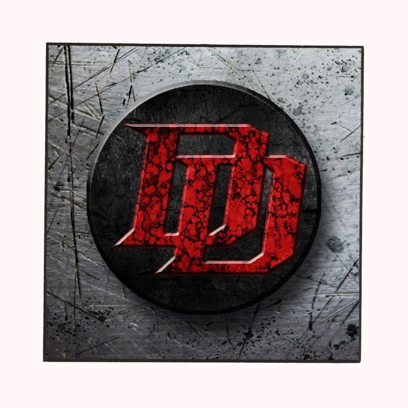 Daredevil Logo Marvel Wooden Wall Plaque