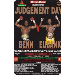 NIGEL BENN VS CHRIS EUBANK...