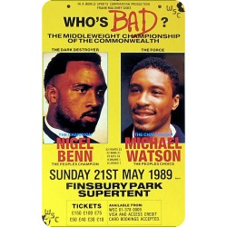 NIGEL BENN VS MICHAEL...