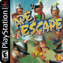 APE ESCAPE (PLAYSTATION)...